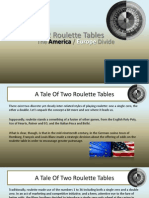 A Tale of 2 Roulette Tables