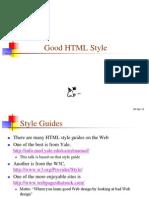 12 Good HTML Style