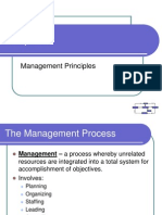 Chapter 09 Management Principles