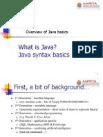 Java Basics - 1