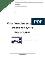 crise financière et cycles économiques
