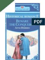 54669740 Beware the Conqueror Herries Anne