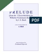 Bach-Siloti - Prelude - Hmoll