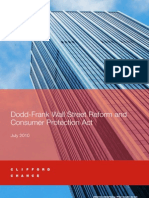 Dodd-Frank Wall Street Reform & Consumer Protection Act