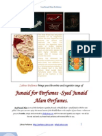 Zahras Perfumes - Syed Junaid Alam