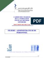 Cahier de Charges Administrateur Personnel-OfF-AP