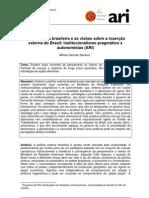 ARI46-2010 Gomes Saraiva Diploma CIA Brasileira Institucionalismo Pragmatico a