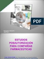 Estudios Postautorización - 2010