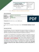 """Taller Semana 2 Adalberto Borja """"ISO 9001 fundamentación de un sistema de gestión de la calidad"""""""