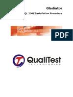 SQL 2008 - Installation Procedure