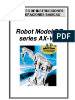 Manual Robot Model RS reries_
