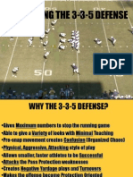 Installing the 3-3-5 Defense