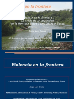 Cobertura de La Delicuencia Organizad en La Frontera Norte