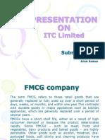 Anish Ppt on ITC Ltd