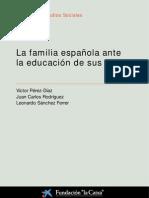 La familia española ante la educación de sus hijos