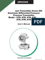 Manual STD3000