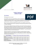 The Monarch Report 10-17-11