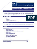 Well Control Course (Iwcf Certification)