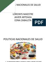 POLITICAS NACIONALES DIAPOSITIVAS