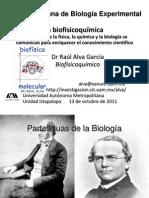 La biofisicoquímica o cómo es que la física, la química y la biología se comunican para enriquecer el conocimiento científico