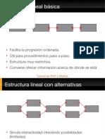 Estructuras hipertextuales
