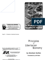 Abraham Guillen - Principles of Libertarian Economy