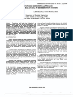 A new fuzzy reasoning approach for load balancing in distribution system
