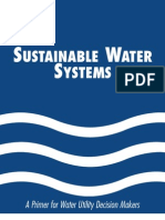 Sustainable Water Systems