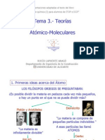 Tema 3.- Teorias Atomico-Moleculares