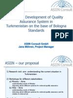ASIIN presentation programme accreditation