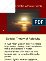 Einstein and the Atomic Bomb