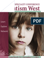 2011 Autism West Brochure