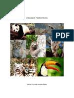 Animales en via de Extincion