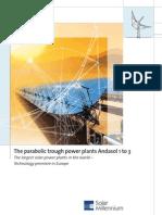 Planta Termosolar Cilindro Parabólico Andasol I Solar Millenium