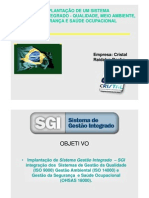 SGI - Raidalva Rocha