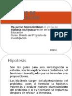 Hipotesis de Investigacion_variables