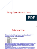 String Operations in Java