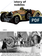 The History of Automobiles