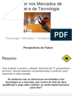 Palestra Mulheres de TI fisl12 2011