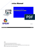 Epson Stylus Pro 9000 Service Manual