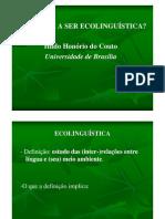 Hildo Honório.ecolinguistica