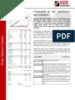 NDB Daily Market Update 20.10