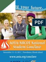 2011 Student Conclave Program