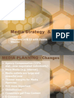 MBA 532- Media Strategy and Planning Chp 14 and 15