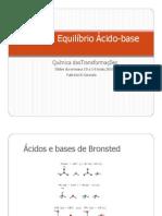 Equilibrio quimico - aula