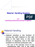 - Material Handling Systems