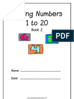 Numbers & Counting 1 to 20 - Book 2