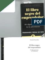 fernando trías de bes - el libro negro del emprendedor