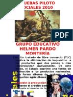 PRUEBAS PILOTO SOCIALES 2010