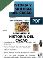 Expo Sic Ion Historia y Fisiologia Del Cacao